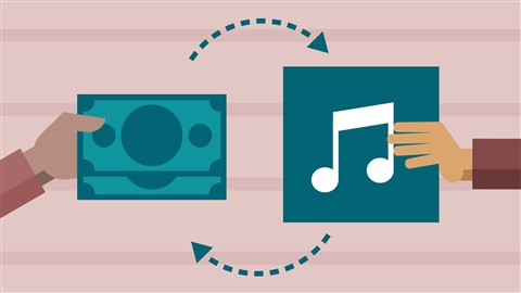 course illustration for Selling Music: MP3s, Streams, and CDs