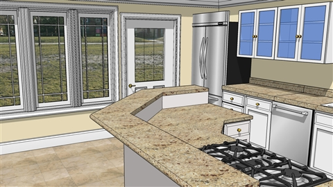 course illustration for SketchUp for Interior Design