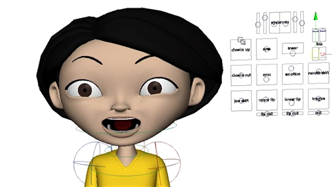 course illustration for Character Animation: Dialogue