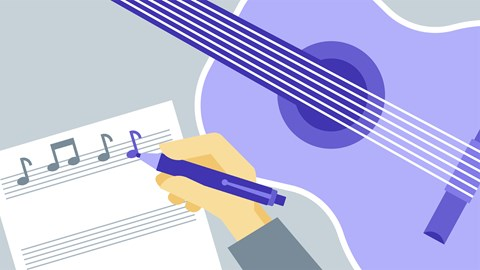 course illustration for The Business of Songwriting: First Steps