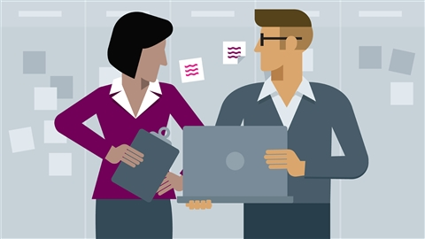 course illustration for Agile at Work: Reporting with Agile Charts and Boards