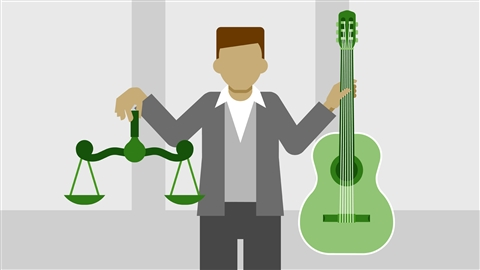 course illustration for Music Law: Recording, Management, Rights, and Performance Contracts