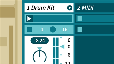 course illustration for Learning Songwriting: Ableton Live