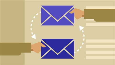 course illustration for Outlook 2013: Efficient Email Management
