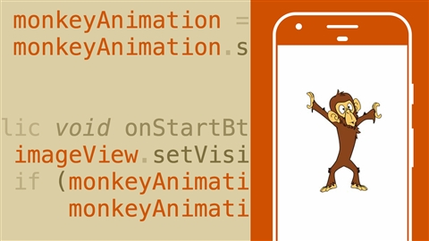 course illustration for Android App Development: Animations and Transitions with Java