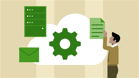 course illustration for Google Cloud Storage and Data Essential Training