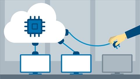 course illustration for Google Cloud Compute Engine Essential Training