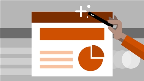 course illustration for PowerPoint 2013: Tips, Tricks, and Shortcuts