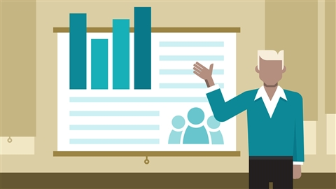 course illustration for Writing a Marketing Plan