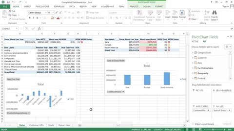 Ediblewildsus  Nice Excel  Online Courses Classes Training Tutorials On Lynda With Likable Creating Excel Power Pivot And Power View Dashboards With Cool Excel Vba Doevents Also Normalize Data In Excel In Addition Sparklines Excel  And Excel Micro Support As Well As Excel Copy Value Not Formula Additionally Income Statement Excel Template From Lyndacom With Ediblewildsus  Likable Excel  Online Courses Classes Training Tutorials On Lynda With Cool Creating Excel Power Pivot And Power View Dashboards And Nice Excel Vba Doevents Also Normalize Data In Excel In Addition Sparklines Excel  From Lyndacom