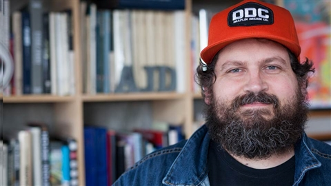 course illustration for Aaron Draplin Takes On a Logo Design Challenge