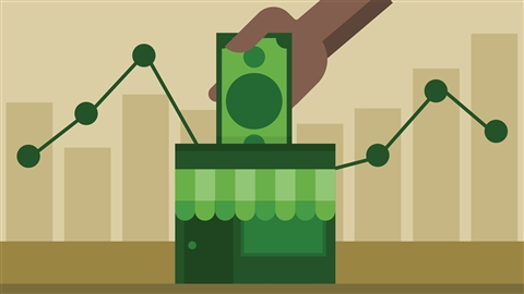 course illustration for Finance Essentials for Small Business