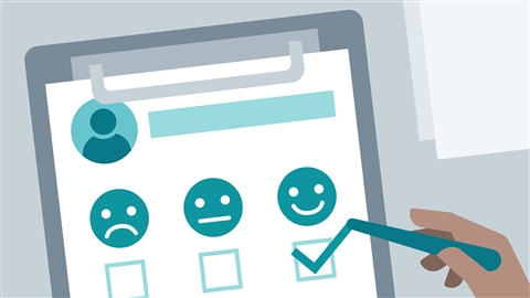 course illustration for Using Customer Surveys to Improve Service