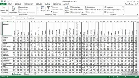 course illustration for Excel 2013: Tipps, Tricks, Techniken
