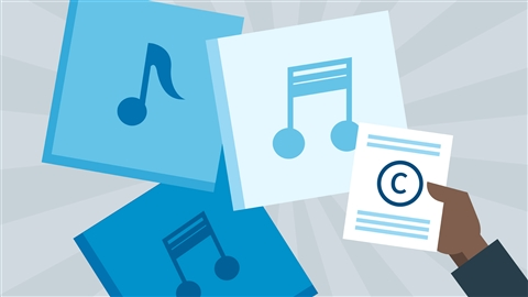 course illustration for Music Law: Copyrighting a Song