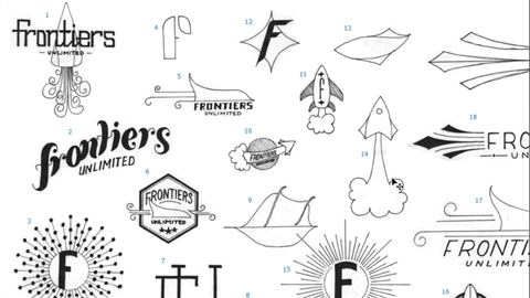 course illustration for Creating and Adapting a Logo
