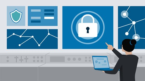 course illustration for Microsoft Azure Security Technologies (AZ-500) Cert Prep: 3 Manage Security Operations