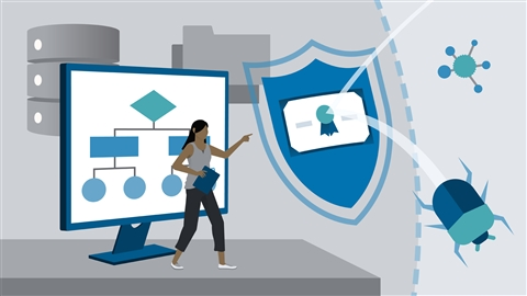 course illustration for CompTIA Security+ (SY0-601) Cert Prep: 10 Governance, Risk, and Compliance