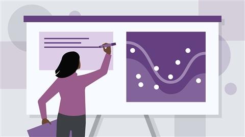 course illustration for Designing a Presentation