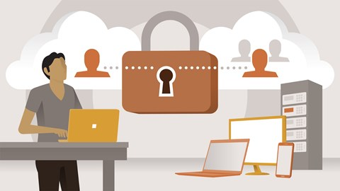 course illustration for Azure Administration: Manage Identities