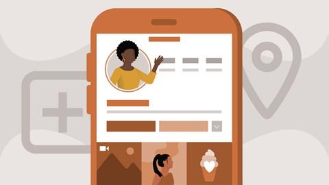course illustration for Learning Instagram