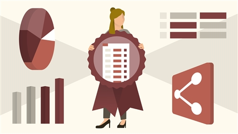 course illustration for Cert Prep: Excel Expert - Microsoft Office Specialist for Office 2019 and Office 365