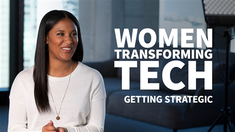 course illustration for Women Transforming Tech: Getting Strategic with Your Career