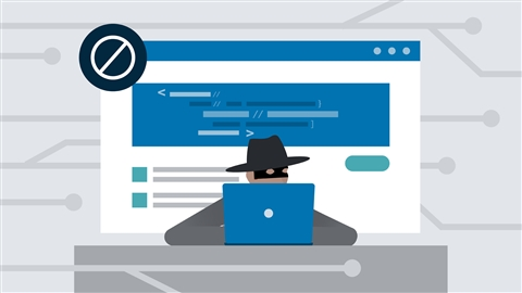 course illustration for OWASP Top 10: #7 XSS and #8 Insecure Deserialization