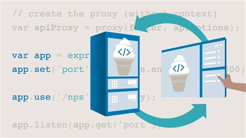 course illustration for Vanilla JavaScript: Ajax and Fetch