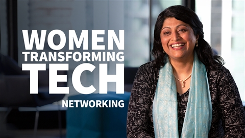 course illustration for Women Transforming Tech: Networking
