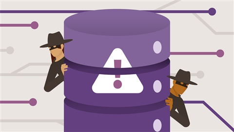 course illustration for OWASP Top 10: #9 Components with Known Vulnerabilities and #10 Insufficient Logging and Monitoring