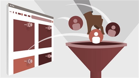 course illustration for Advertising on Pinterest