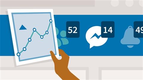 course illustration for Marketing on Facebook