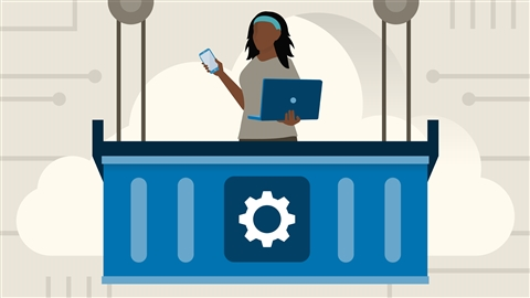 course illustration for Docker on Azure