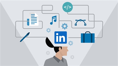 course illustration for Gaining Skills with LinkedIn Learning