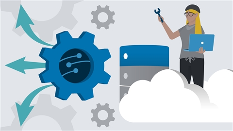 course illustration for Azure Administration: Implement and Manage Application Services