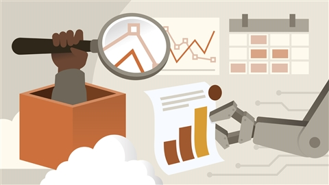 course illustration for AWS: Monitoring and Reporting
