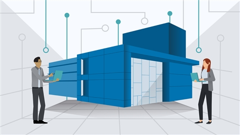 course illustration for InfraWorks and ArcGIS: AEC Collaboration
