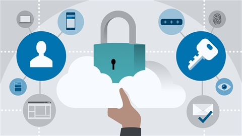 course illustration for Microsoft Azure Security Technologies (AZ-500) Cert Prep: 1 Manage Identity and Access