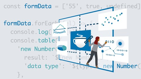 course illustration for JavaScript: Best Practices for Data