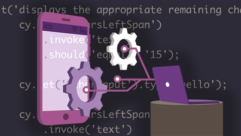 course illustration for End-to-End JavaScript Testing with Cypress.io