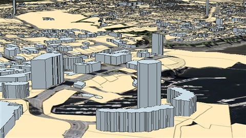 course illustration for ArcGIS Pro Essential Training