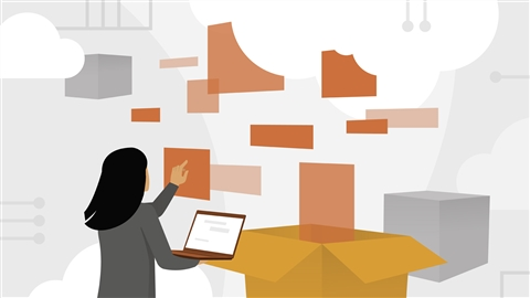 course illustration for Amazon Web Services: Data Services
