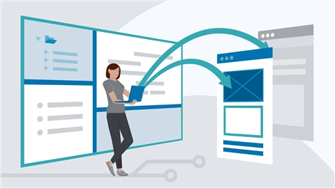 course illustration for iOS 13 Development Essential Training: 2 Web Content, Views, and Distribution