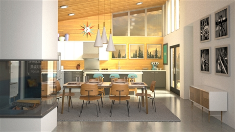 course illustration for 3ds Max and V-Ray: Interior Lighting and Rendering