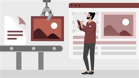 course illustration for WordPress: Workflows