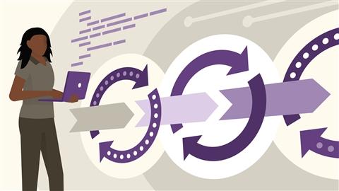 course illustration for Azure for DevOps: Implementing Development Processes