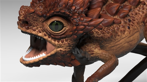 course illustration for ZBrush 2020 Essential Training