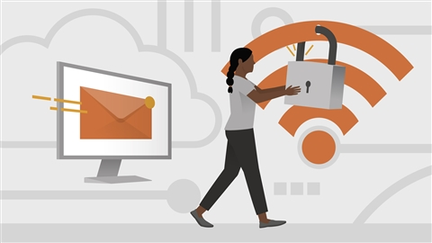 course illustration for Microsoft Cloud Fundamentals: Exchange Online and Security