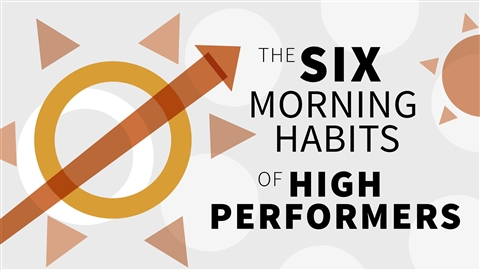 course illustration for The Six Morning Habits of High Performers